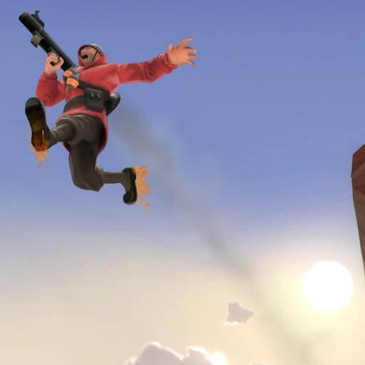 Garry's Mod - Простой ракетный прыжок