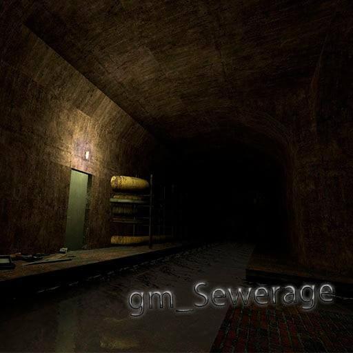 "Garry's Mod - Карта ""gm_sewerage"""